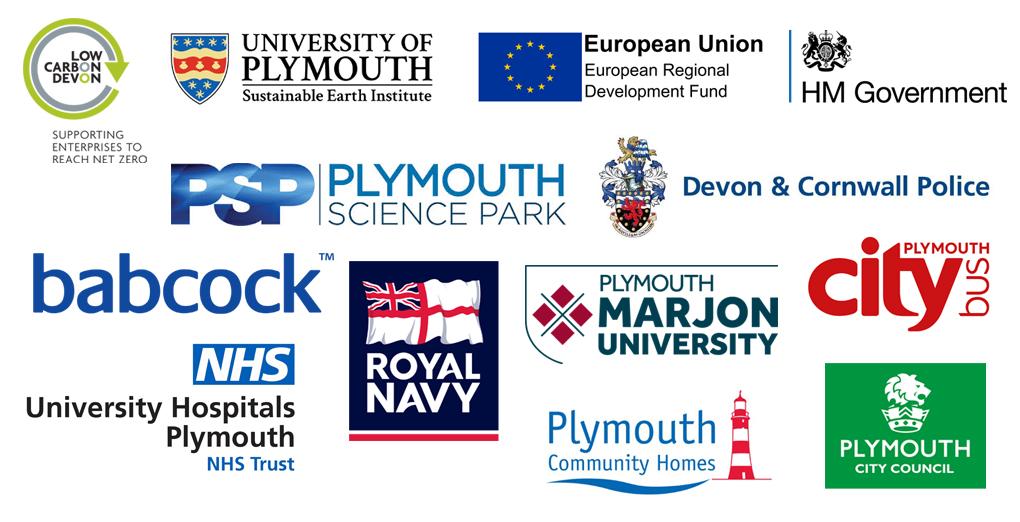 Net zero partnership partner logos
