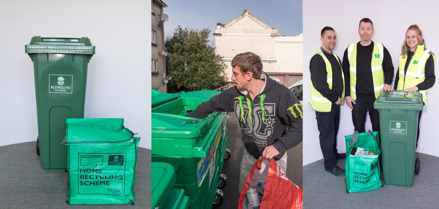 What goes in each bin | PLYMOUTH GOV UK