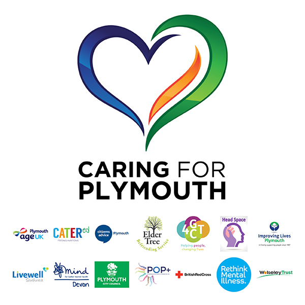 Caring for Plymouth logo