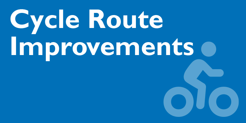 Cycle route improvements