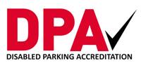Disabled parking accreditation logo