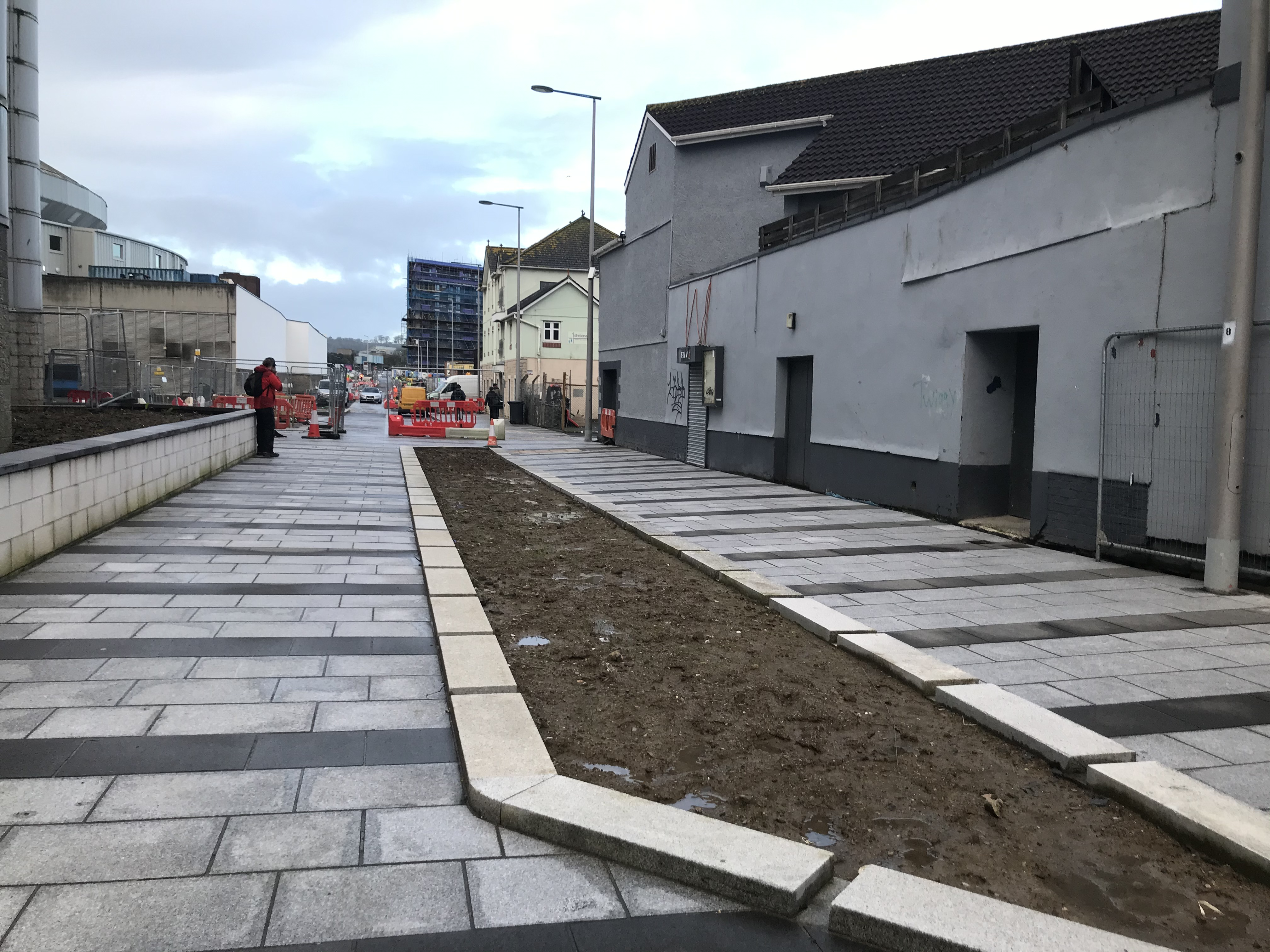 The new boulevard from Union Street