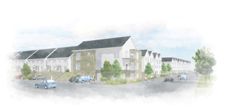 Artist Impression of the last phase of development at North Prospect