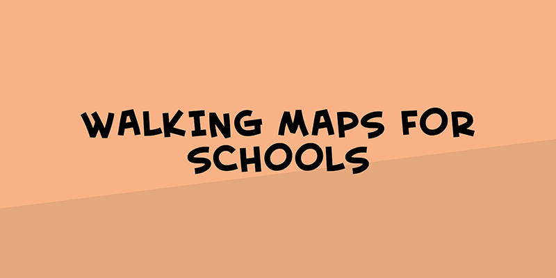 Walking maps for schools