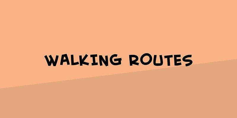 Walking routes