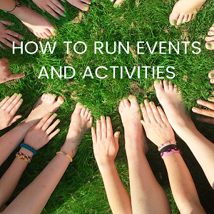 How to run events and activities as a Friends Group