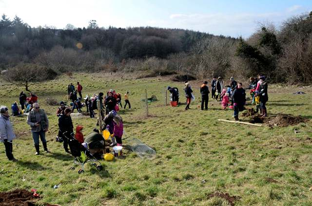 A photo of children enjoying Southway LNR