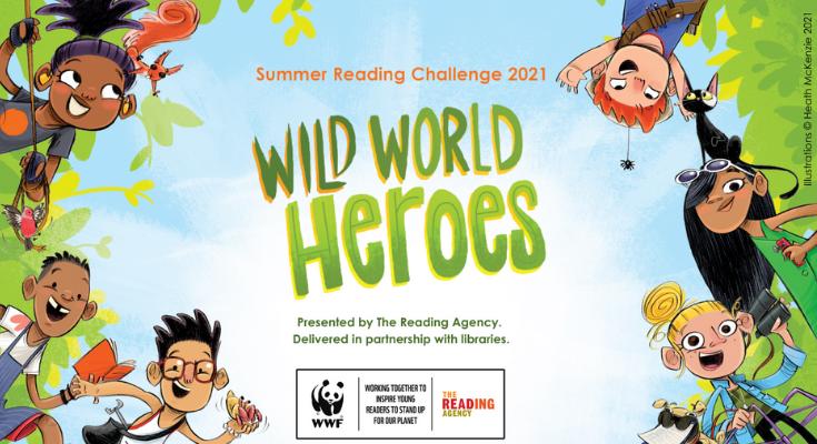 Wild World Heroes logo