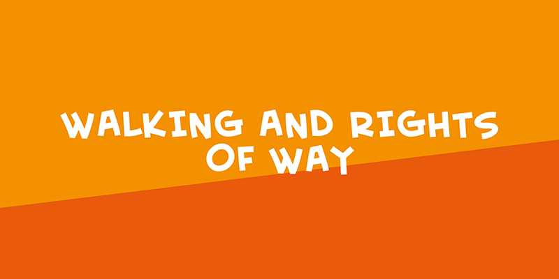 Link to Walking and rights of way