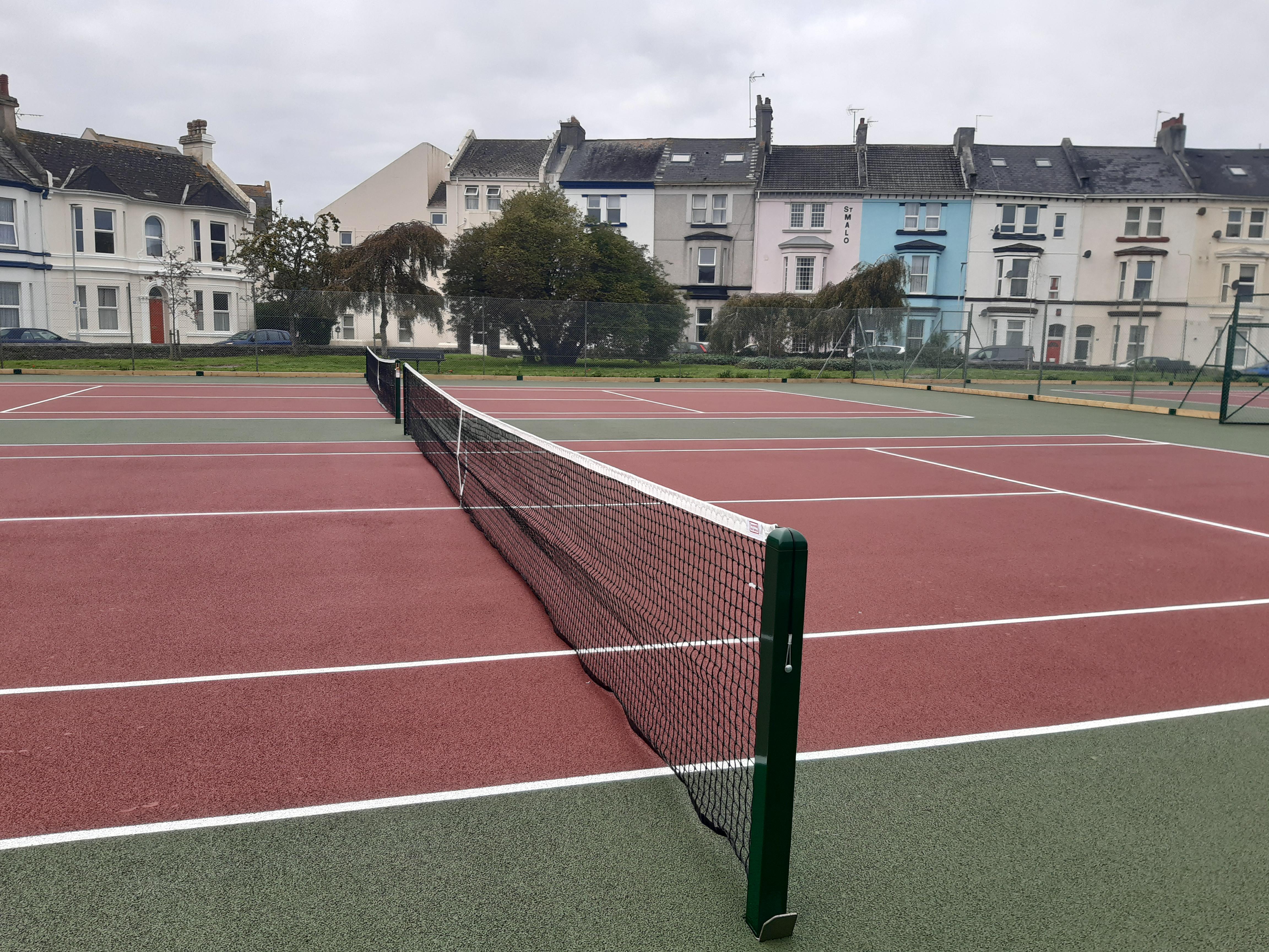 West Hoe Tennis Courts