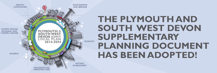 The Plymouth and South West Supplementary Planning Document has been adopted!