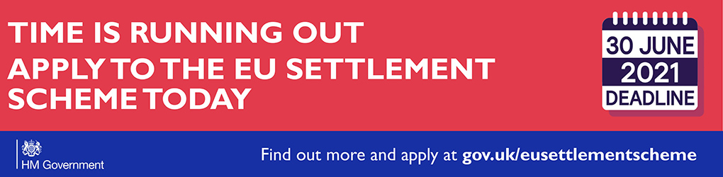 EU settlement information