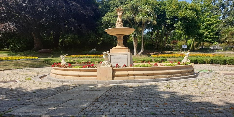 fountain in devonport park