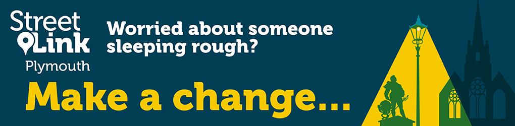 Make a change banner
