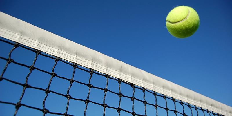 Ball over net