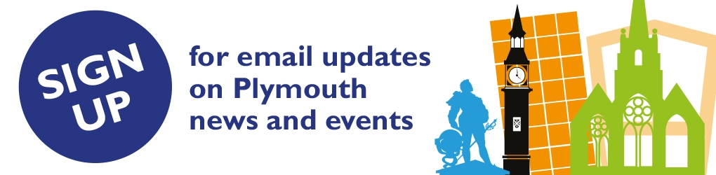 Sign up for email updates on Plymouth news and events