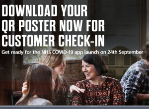 Image saying download your QR poster now