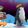 Penguins: A LEGO brick trail