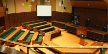 Interior of the council chamber