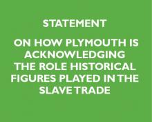 Leader's statement on slave trade
