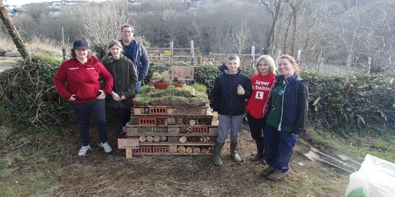 Volunteering at Poole Farm
